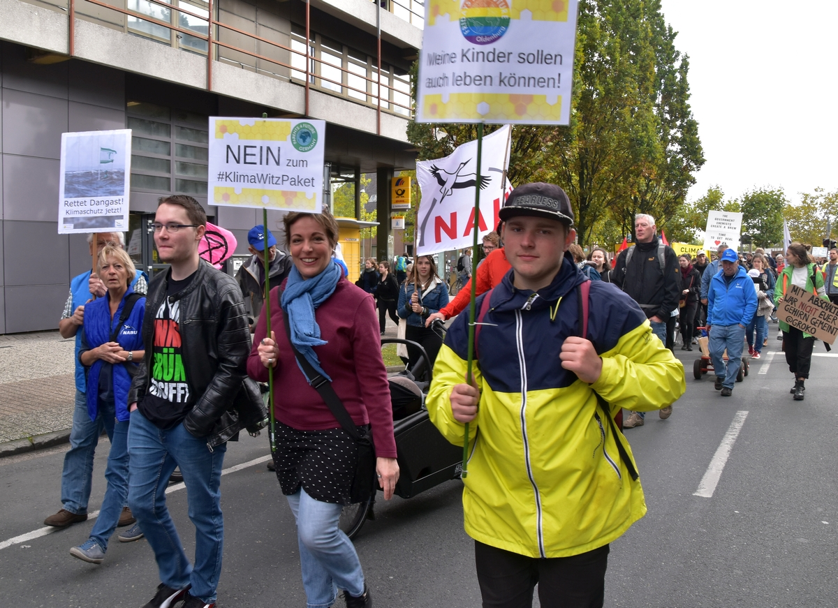 Wardenburger FridaysforFuture Oldenburg 27.09.2019 Foto GrAbo