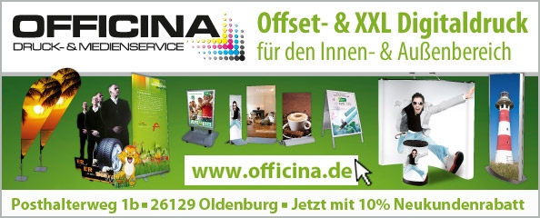 Druckerei und Medienservice Officina Oldenburg