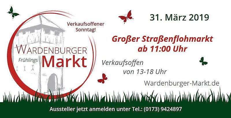Wardenburger Frühlingsmarkt  Flyer