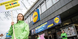 Lidl Protest