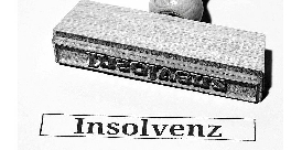 Insolvenz Stempel